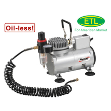 1/8 HP Oiless Airbrush Compressor (AS18MF)