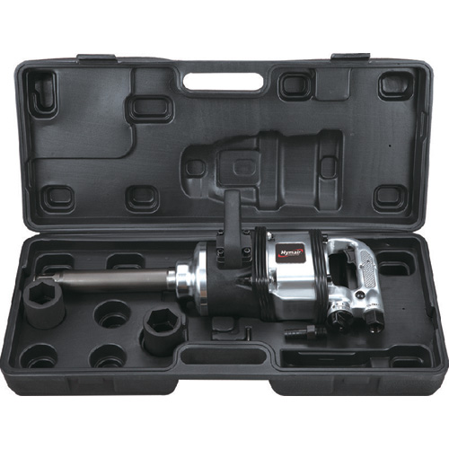 6 PC 1'' H. D. Extended Anvil Air Impact Wrench Kit (Pinless Hammer) (AT-4500K)