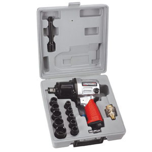 17PC 1/25'' H. D. Air Impact Wrench Kit (PAT-102K)