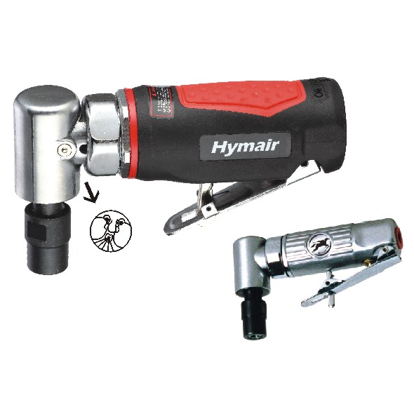 "1/4"" (6MM) Air Angle Die Grinder Kit (AT-7035BK