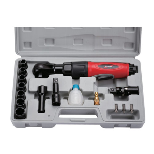 17 PC 3/8'' Professional Air Ratchet Wrench Kit (AT-5058AK)